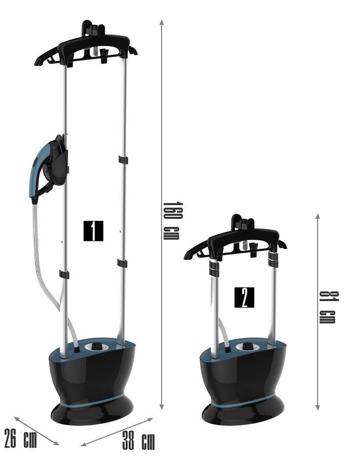 dimensions défroisseur vapeur G600