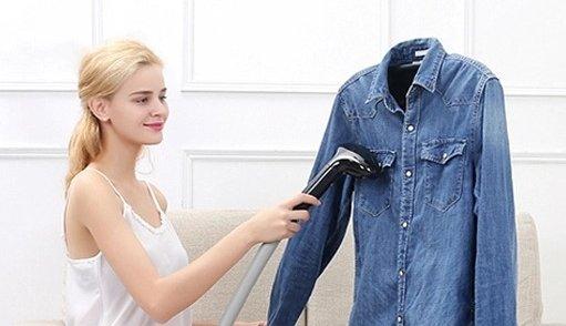 defroisser une chemise en jean